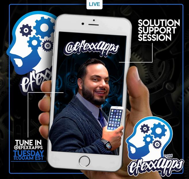 efexx app live chat on instagram